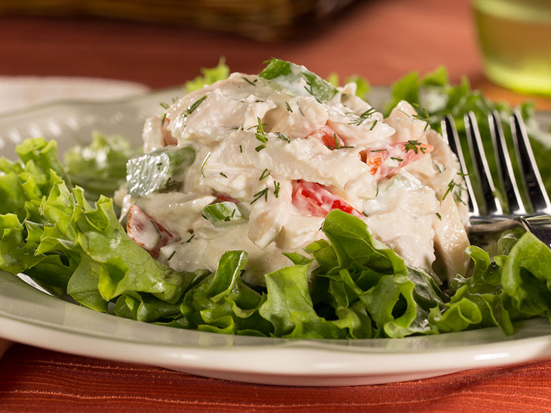 Creamy Dill Chicken Salad