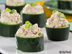 Easy Cucumber Cups